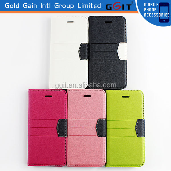 Case With Card Slots and Stand For iPhone 6 Leather Case