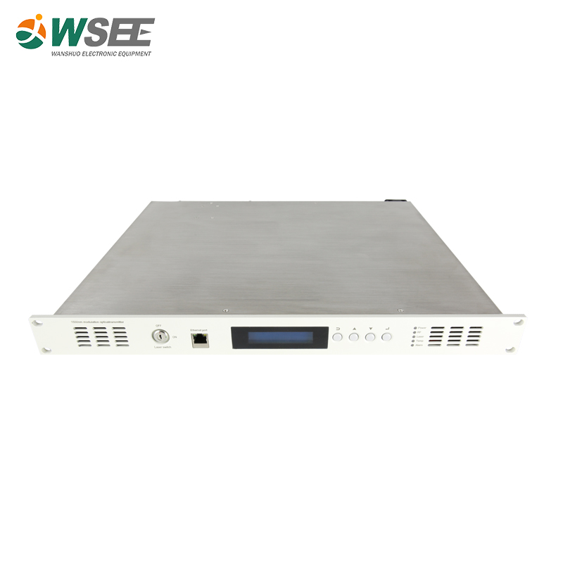 Best price 1550nm external modulation fiber optic optical transmitter