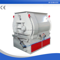 Double shaft oar efficient mixer for farm