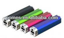 2013 Best Selling Slim Colorful Mini 2200mah Power Bank For Mobile Phone and Pad