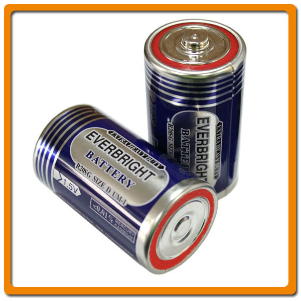 R20 size d um1 no rechargeable batteries