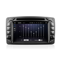 C-class W203 Screen size 7 inch dashboard placement and car radio