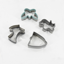 Custom Plastic Silicone Edge Cookie Cutter Set Shaped Christmas Cookie Cutters