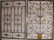 Cheaper wrought iron window guard design with good quality
