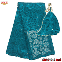 Beaded African Water Soluble Lace For Dress SR1010