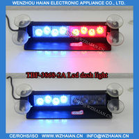LED Emergency Vehicle Strobe Lights/Lightbars for Deck Dash Grille - Red blue