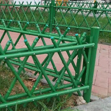 Different color PVC Coated Imitative Bamboo Fence