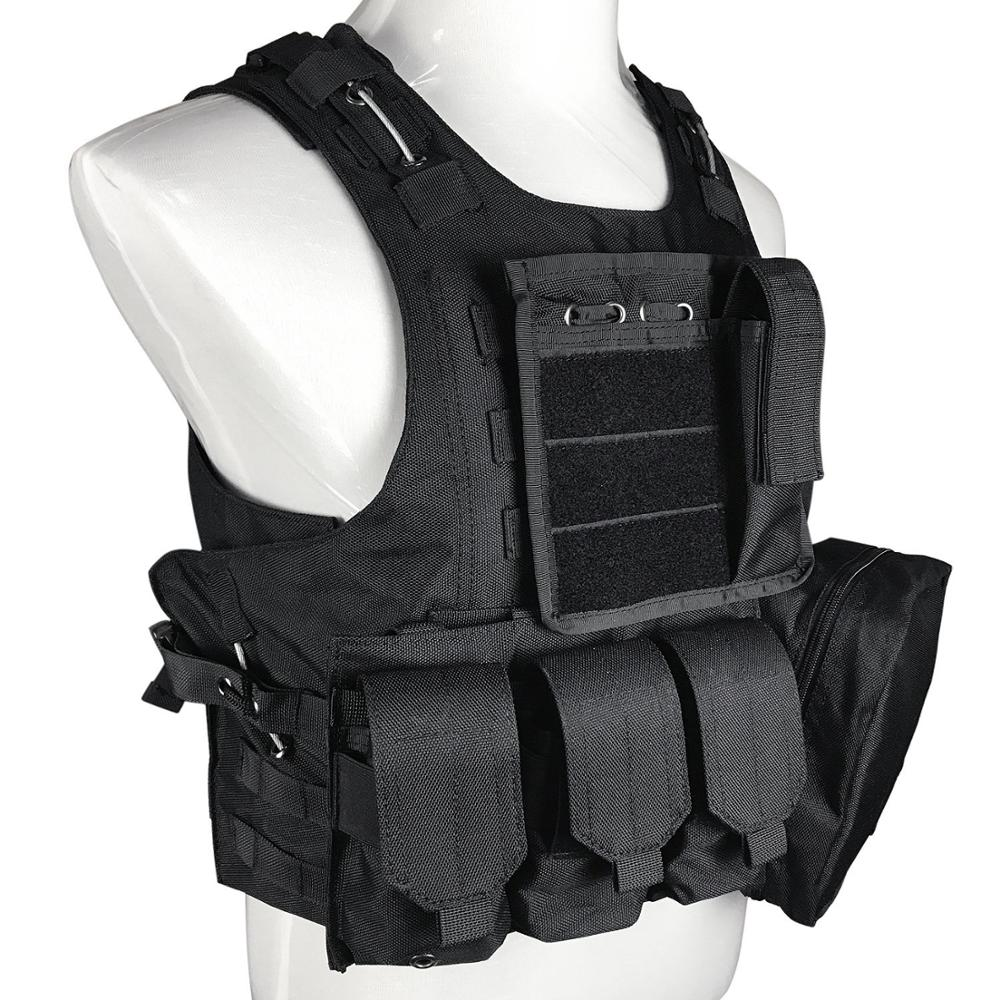 Law Enforcement 1000D Tactical Vest Molle With Modular System Wholesale Custom Available