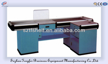 TF Widely used supermarket check out desk/cashier counter