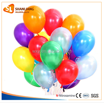 10inch 2.2g Round Latex Balloon, Promotion and Advertising Printing Balloon, Pearl Color