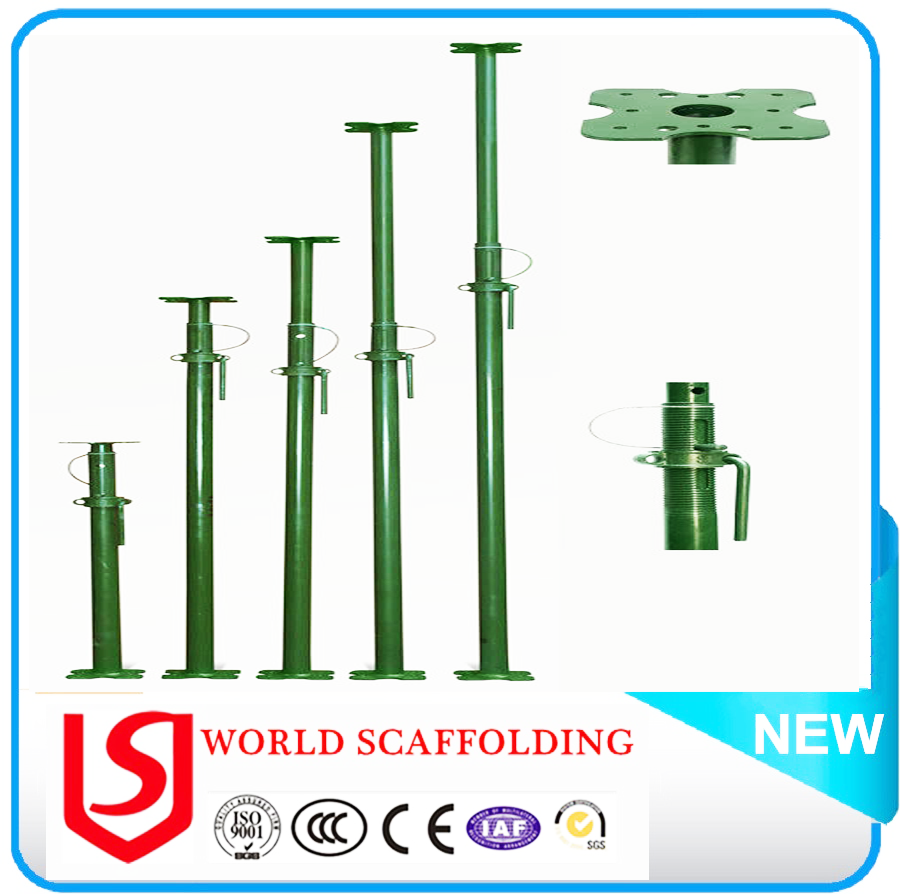 factory price acro jacks for construction, scaffolding U-head prop at best price/World Scaffolding Factory