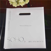2016 China manufacturer wholesale plastic foldable LDPE shopping bag