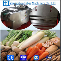 automatic comercial vegetable root cutting machine&cucumber potato cutter