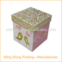 Best-selling OEM high-quality paper mache boxes with lids