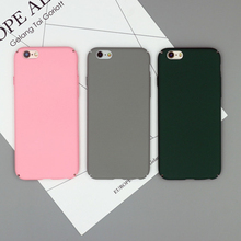 2017 New Products Frosted Matte Mobile Phone Case Ultra Slim Hard PC For iPhone 7