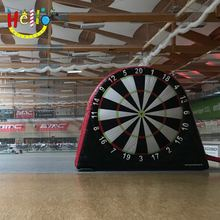 Giant football dart game inflatable dart game/inflatable soccer darts