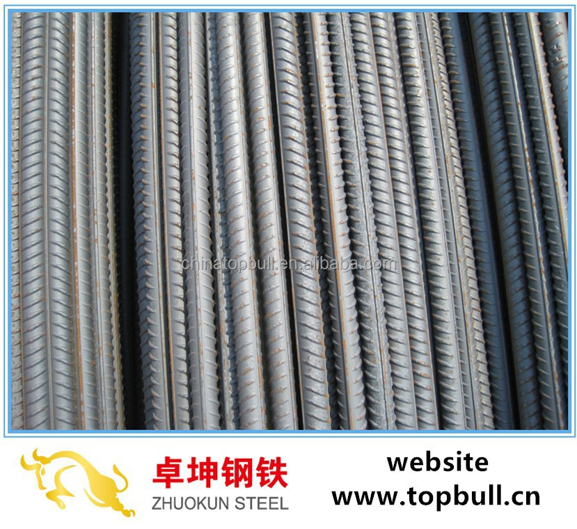 HRB400/HRB500/Q235 Rebar,Deformed Bars by Tangshan Supplier