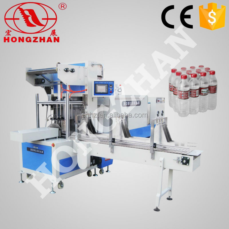 ST6030 cartons box bottles cans automatic heat shrinking and sleeving shrink packing machine