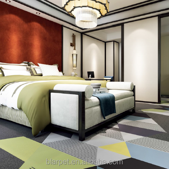 Cheap price wall to wall pattern 100% nylon printed carpet floor for hotel