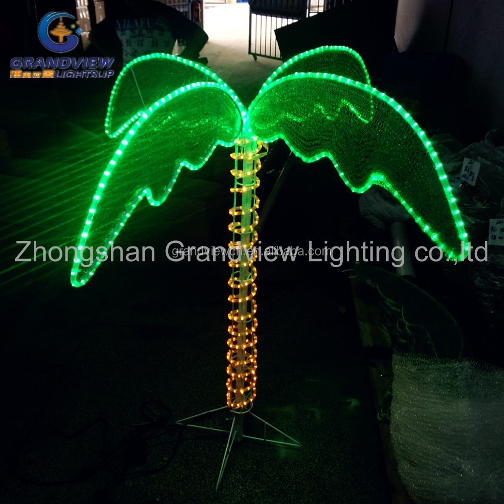 Outdoor decoration Christmas tree light LED palm tree light for holiday decoration