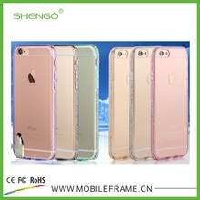SHENGO Diamond New Clear TPU Case for iPhone 6