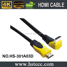 Fast Delivery XERXES Bulk TV HDMI Alibaba 90 degree Cable