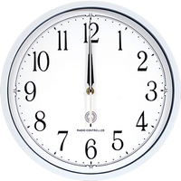 12 inches Radio Controlled Wall Clock