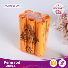 Eco-friendly high quality small plasticheat hair rollers