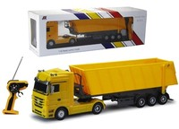 HOT!!1:32 RC licensed toys 6 CH RC dump truck for sale from shantou chenghai factory