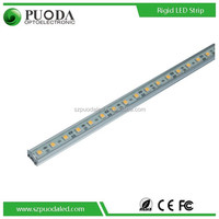 waterproof high lumen 5050 SMD LED strip with aluminum shell and PC cover