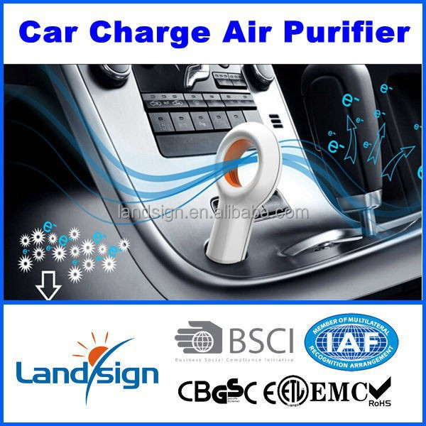 Cixi Landsign New Design EP510 portable car ozone air purifier in Air Purifiers