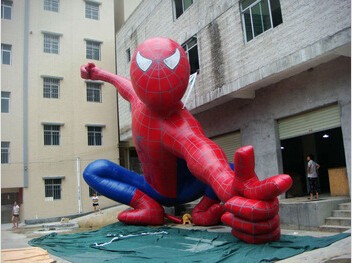 Commercial use, promotional event spider m-an nylon/PVC inflatable model for sale