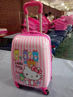 hello kitty red and pink kids school Luggage Travel Bags for girls