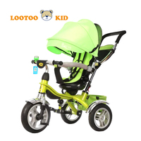 Alibaba China factory wholesale luxuary big wheel tricycle for toddlers