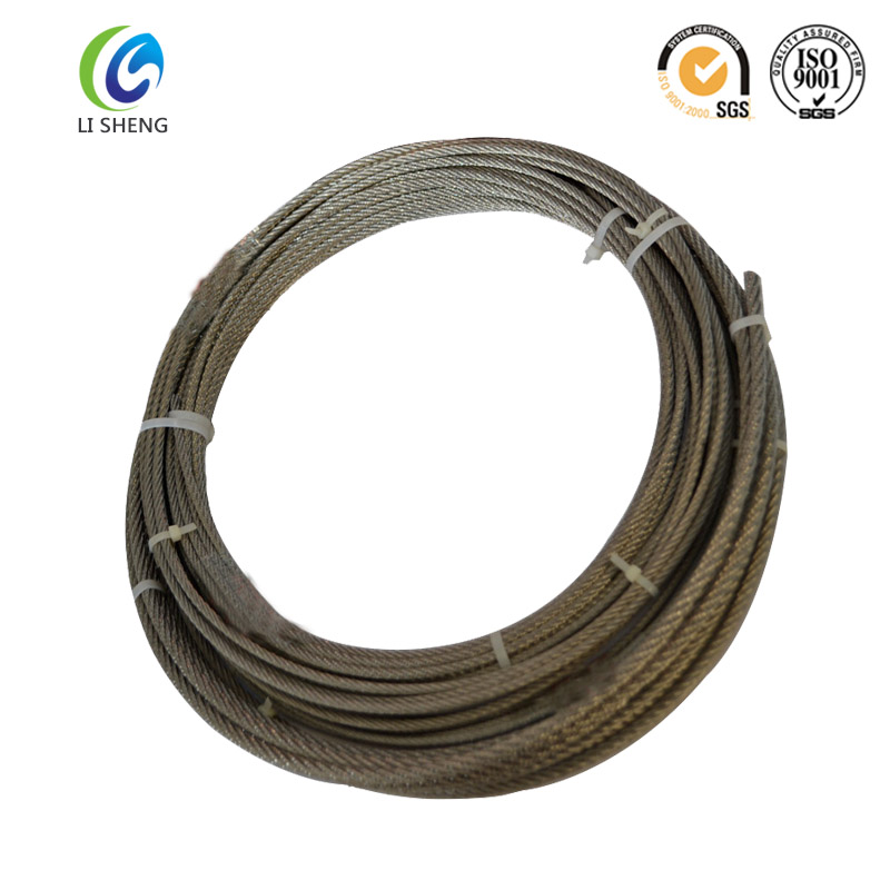 1*19 ungalvanized sling wire rope