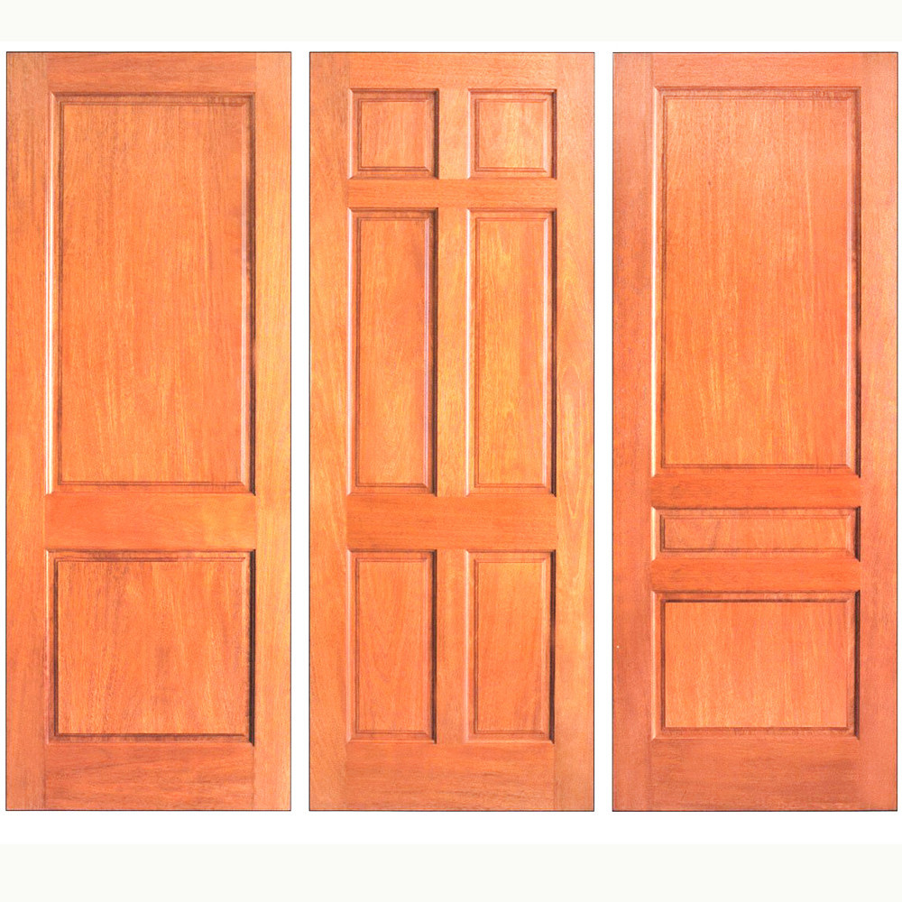 Cheap price wood plastic composite door with good quality