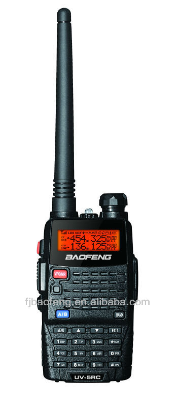 2012 NEW BAOFENG 5W handheld uhf and vhf radio system UV-5RC
