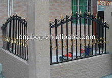 Top-selling hand-forged painting wrought iron fence