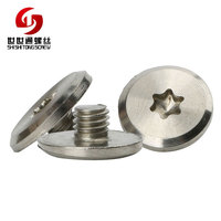Custom Stainless Big Head Machine Thread Torx Screws For Knives