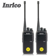 Water-proof IP67 walkie talkie VHF/UHF two way radio with low power alert