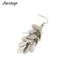 Owl shaped Fish hook ladies cc earrings designs pictures fashion jewelry