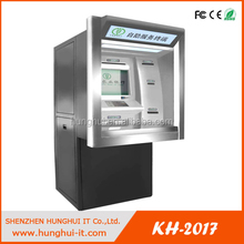 Wall Touchscreen Money Exchange ATM Machine