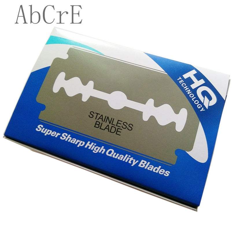 Wholesale classic sharp safety stainless steel men's shaving double edge razor blades