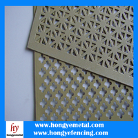 Perforated plate mesh/Hole punching sheet/Square plate mesh
