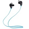 Hot Sale Bluetooth 4.0 Earphone Sports Handsfree Sweatproof Voice Control Wireless Earbud Stereo Headset For MP3 Player With Mic
