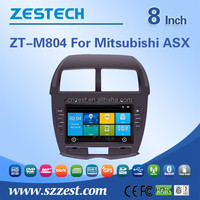 2 din radio for Mitsubishi ASX automobile with pioneer car audio hot sex video player mp3 player