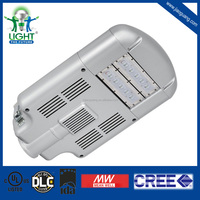 110-277V UL DLC 60W LED Street Light with Meanwell driver