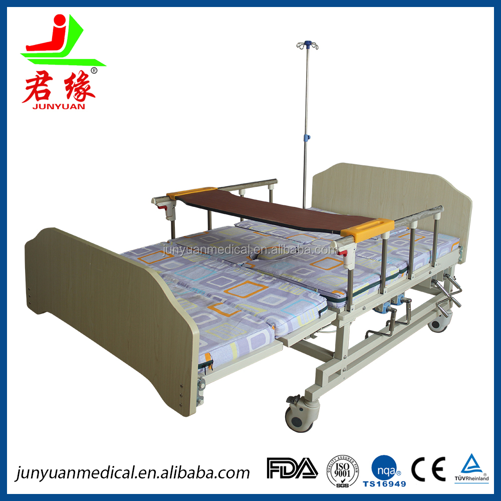 manually operating home care bed bed position nursing adjustable beds