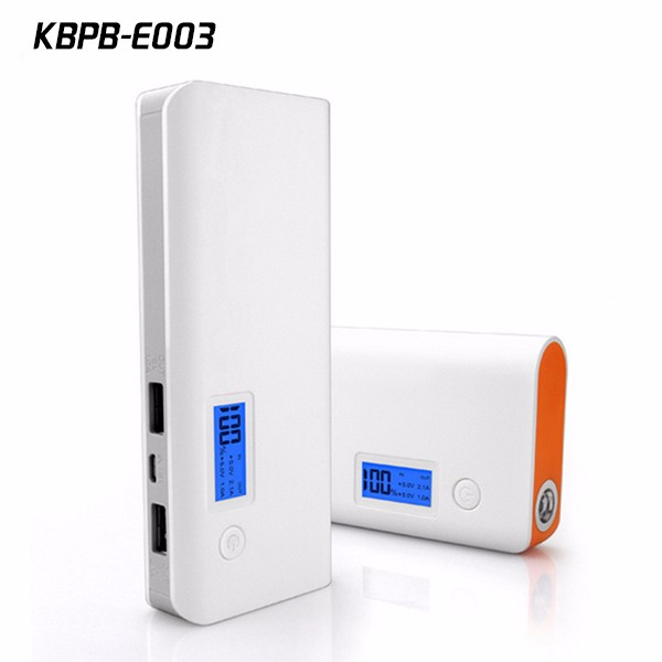 Kingberry 20000mah Portable Power Bank with Digital LCD Display