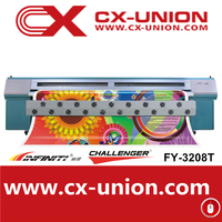 New model 2014 strong frame infinity FY-3208 solvent printer